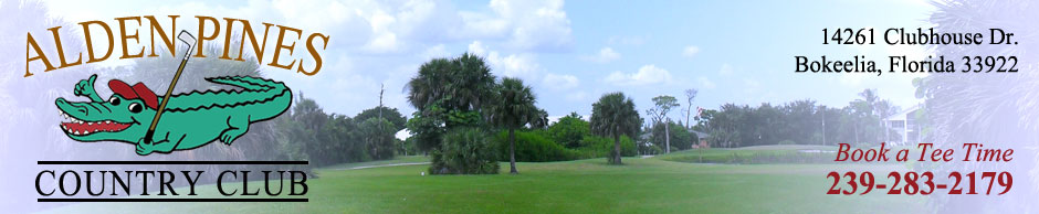 Alden Pines Golf Course - Pine Island, Florida